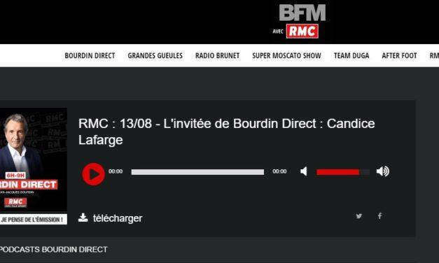 Invitée de Bourdin Direct : Candice Lafarge