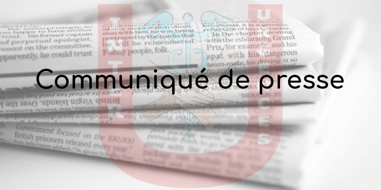 Communiqué de presse – 28 novembre 2020