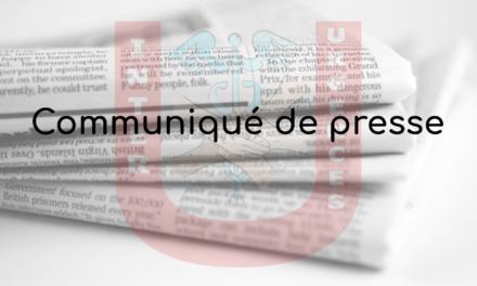 Communiqué de presse 24 fevrier 2020