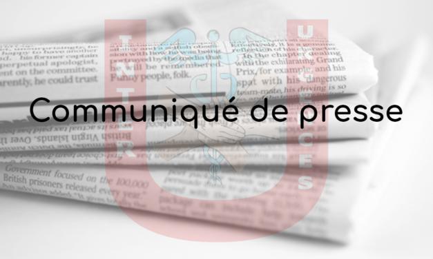 Communiqué de presse – 29 novembre 2019