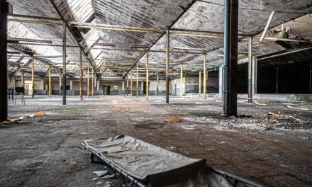 Ruine de l'hôpital