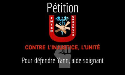Pétition pour défendre Yann